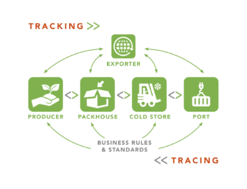 Paltrack logistical flow